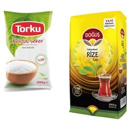 Torku 5 kg Şeker + 1 kg Doğuş Rize Çay
