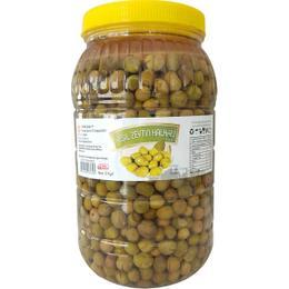 Turunç Gıda Hatay Halhalı Kırık 2 kg Yeşil Zeytin