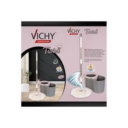Vichy Twist Döner Başlıklı Mop Temizlik Seti