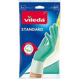 Vileda 3 Adet Standart Temizlik ve Bulaşık Eldiveni Yeşil