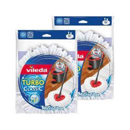 Vileda Turbo Classic 2'li Yedek Mop