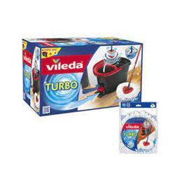 Vileda Turbo Pedallı Temizlik Seti ve Yedek Mop