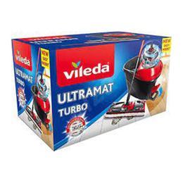 Vileda Ultramat Turbo Temizlik Seti + Ultramat Yedek Mop