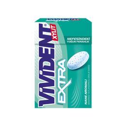 Vivident Extra Sakız Mentol&Nane Aromalı 21 gr