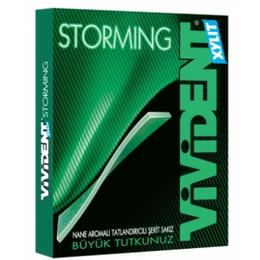 Vivident Storming Nane Aromalı Tatlandırıcılı Sakız 12 Adet