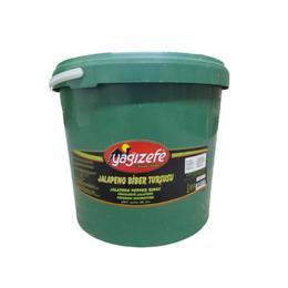 Yağızefe 4,5 kg  Jalapeno Biber Turşusu
