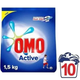 Omo Matik 1500 gr 10 Yıkama Active Deterjan