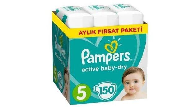 Prima Aktif Bebek 5 Junior 150 Adet Aylık Paket Bebek Bezi İnceleme