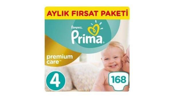 Prima Premium Care No:4 Maxi 168 Adet