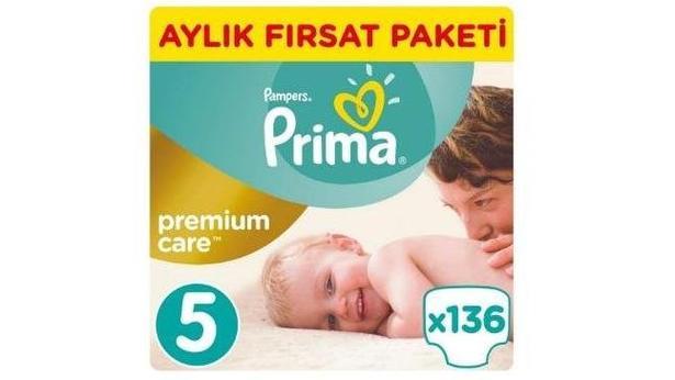 Prima Premium Care No:5 Junior 136 Adet Bebek Bezi İncelemesi