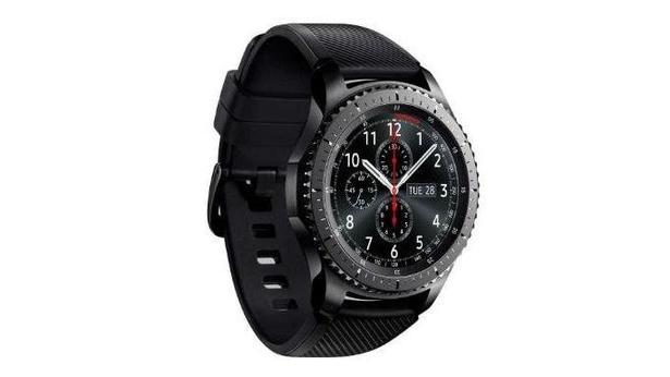 Samsung Gear S3 Frontier Akıllı Saat Koyu Gri
