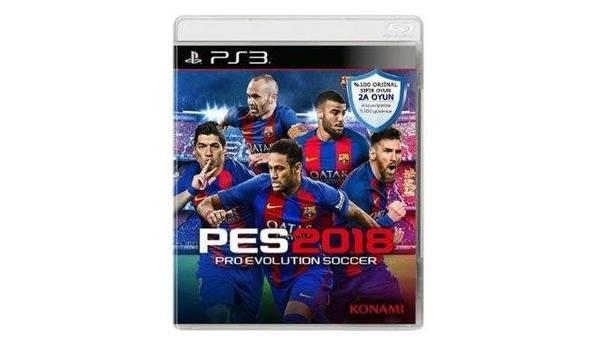 PES Pro Evolution Soccer 2018 PS3