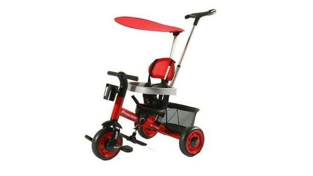 Kraft XG18819 Kırmızı İtmeli Bisiklet