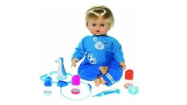 Cicciobello Çok Hastayım Bebek Oyuncak