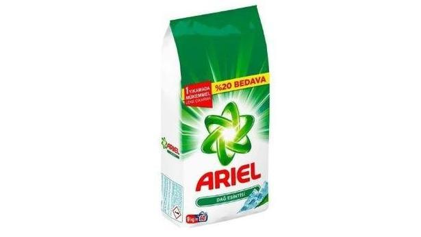 Ariel Dağ Esintisi 9 Kg Toz Çamaşır Deterjanı