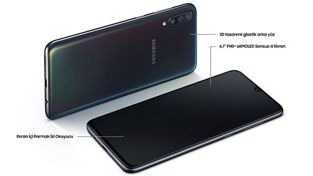 Samsung Galaxy A70 128GB Siyah İnceleme