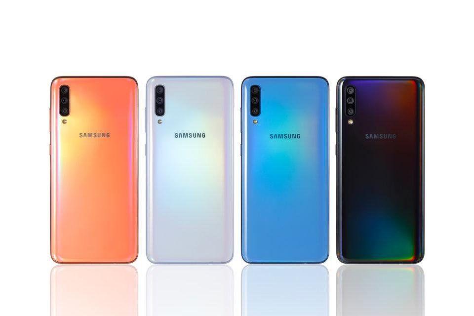 samsung galaxy a70 128gb 6 7 inc 32mp cep telefonu