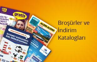 Broşürler ve İndirim Katalogları