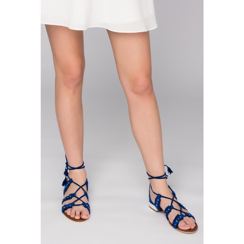 Derimod 17SFE181010 Kırmızı Kadın Sandalet