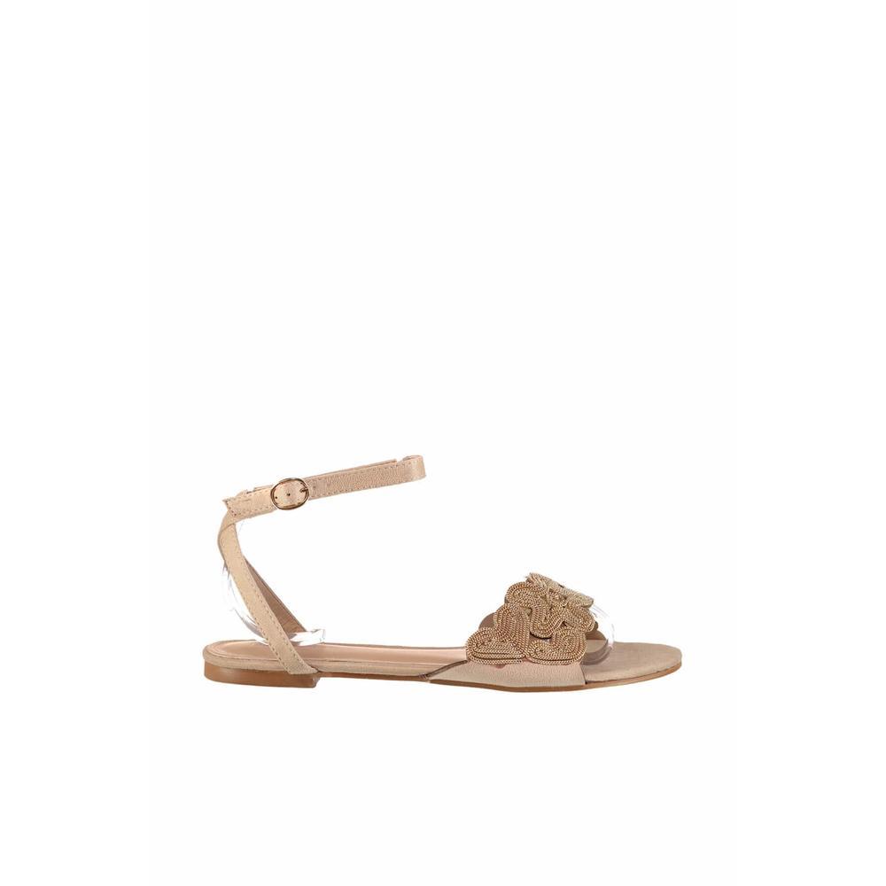 Derimod 18SFE182610 Bej Kadın Sandalet