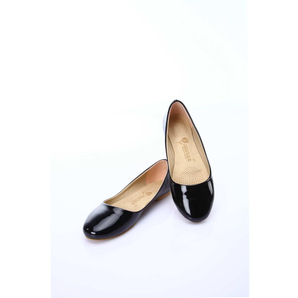 Versace 19V69-İtalia-5VEW-72100 Siyah Kadın Babet