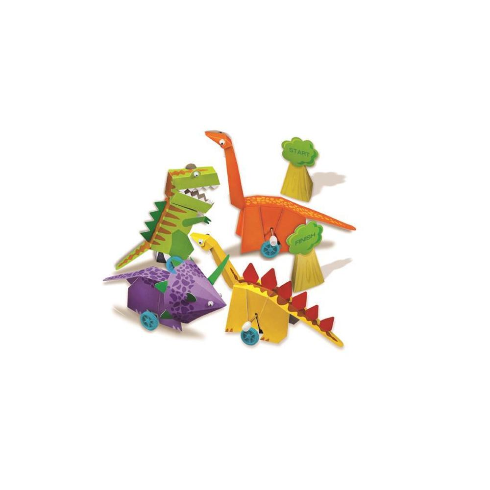 4M Wind Up Dinosaur / Kurmalı Dinozor