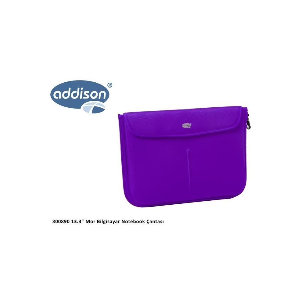 Addison 300890 Mor Notebook Çantası