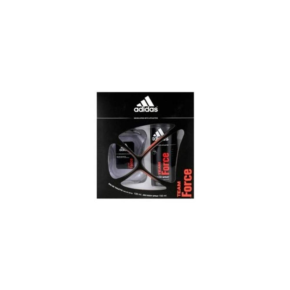 Adidas Team Force EDT 100 Ml ve Deodorant 150 Ml Erkek Parfüm Set