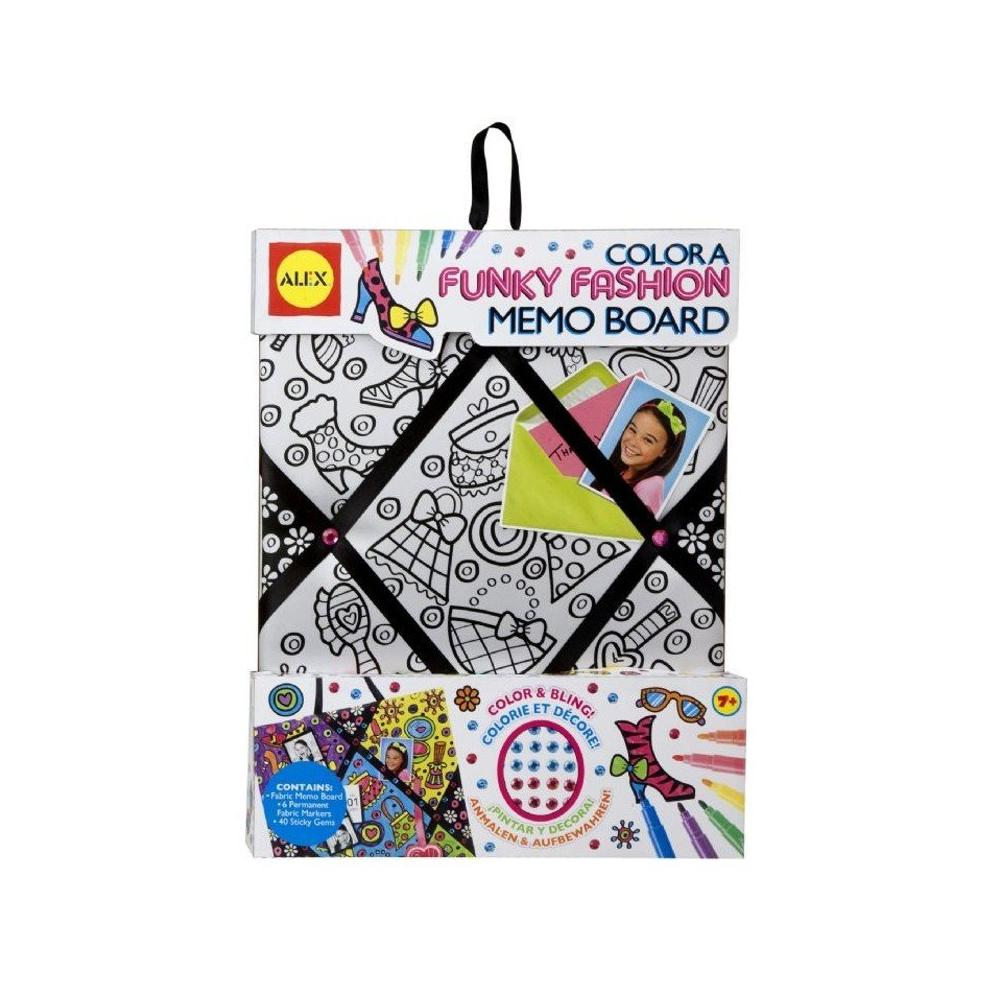 Alex Toys Color A Memo Board Fashion Fun