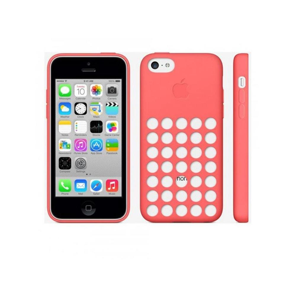 Apple iPhone 5C Silikon Pembe Kılıf