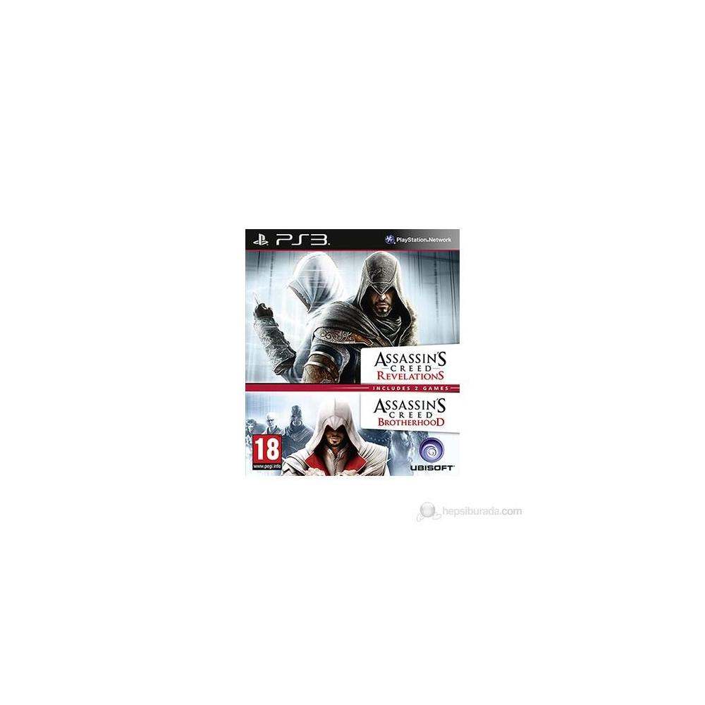 Assassins Creed Revelations + Brotherhood PS3