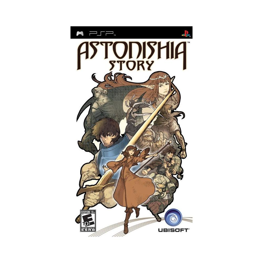 Astonishia Story PSP