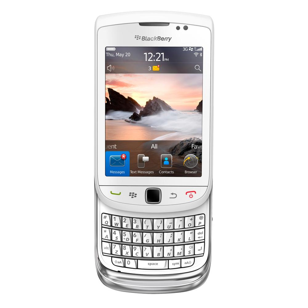 BlackBerry Torch 9800 Beyaz Cep Telefonu
