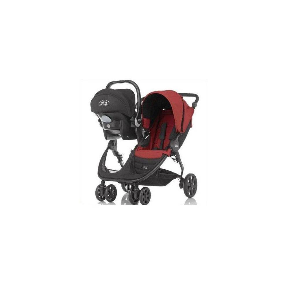 Britax Romer B-Agile Chili Pepper Travel Sistem Bebek Arabası