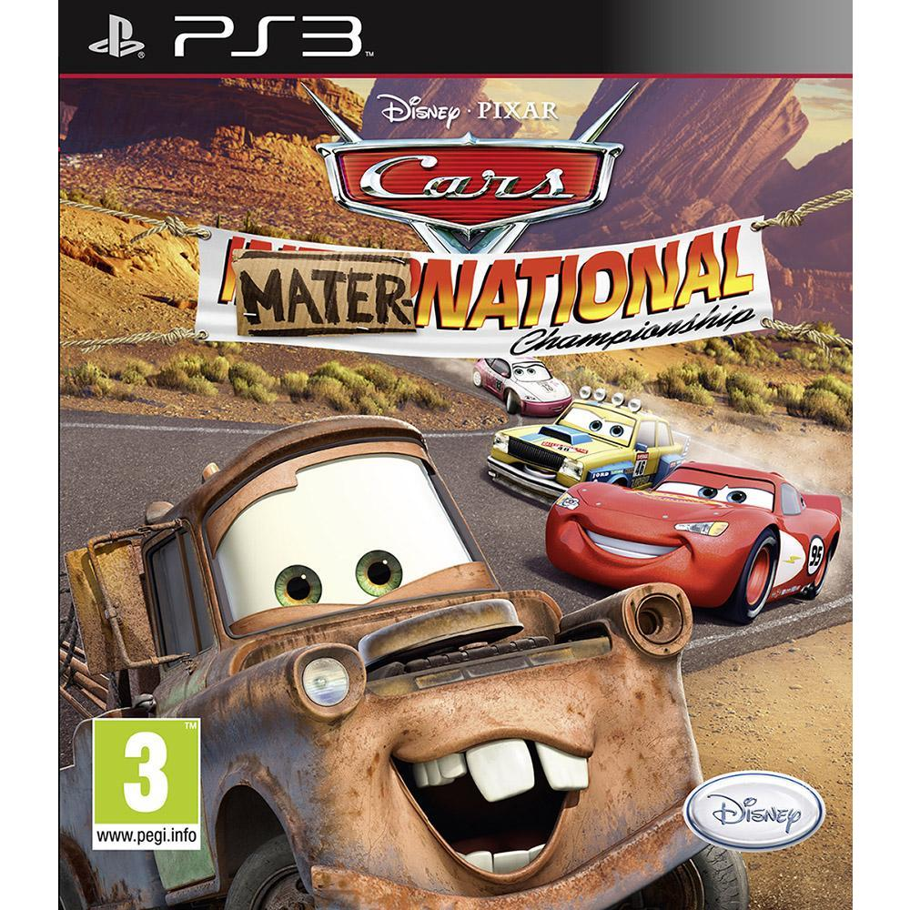 Cars Mater National PS3 Oyunu