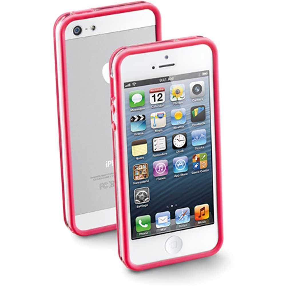 Cellular Line Iphone 5 Bumper Pembe Kılıf