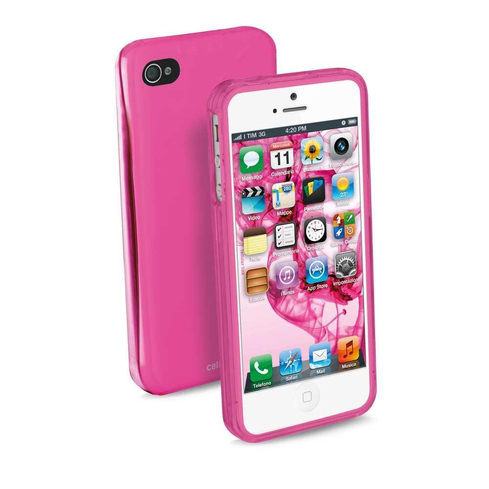 Cellular Line Iphone 5 Cool Sert Pembe Kılıf