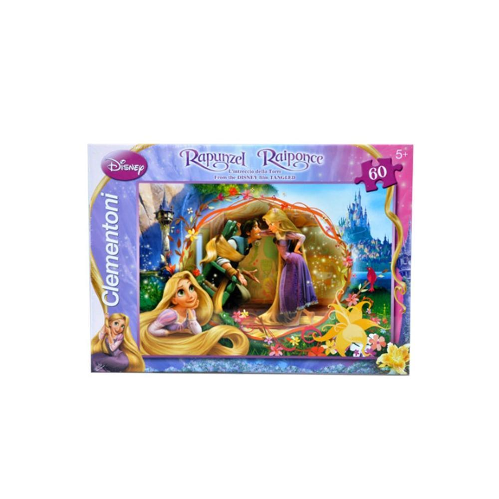 Clementoni Rapunzel Find Your True 60 Parça Maxi Puzzle