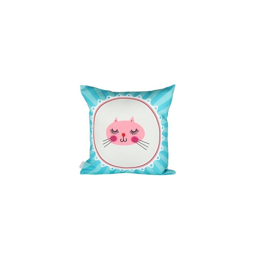 Cushion Design Tiny Cat Yastık Kılıfı