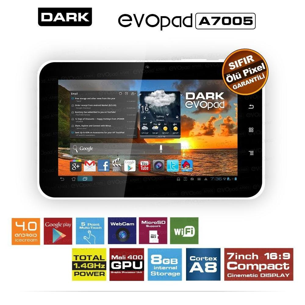 Dark Evopad A7005 Tablet PC