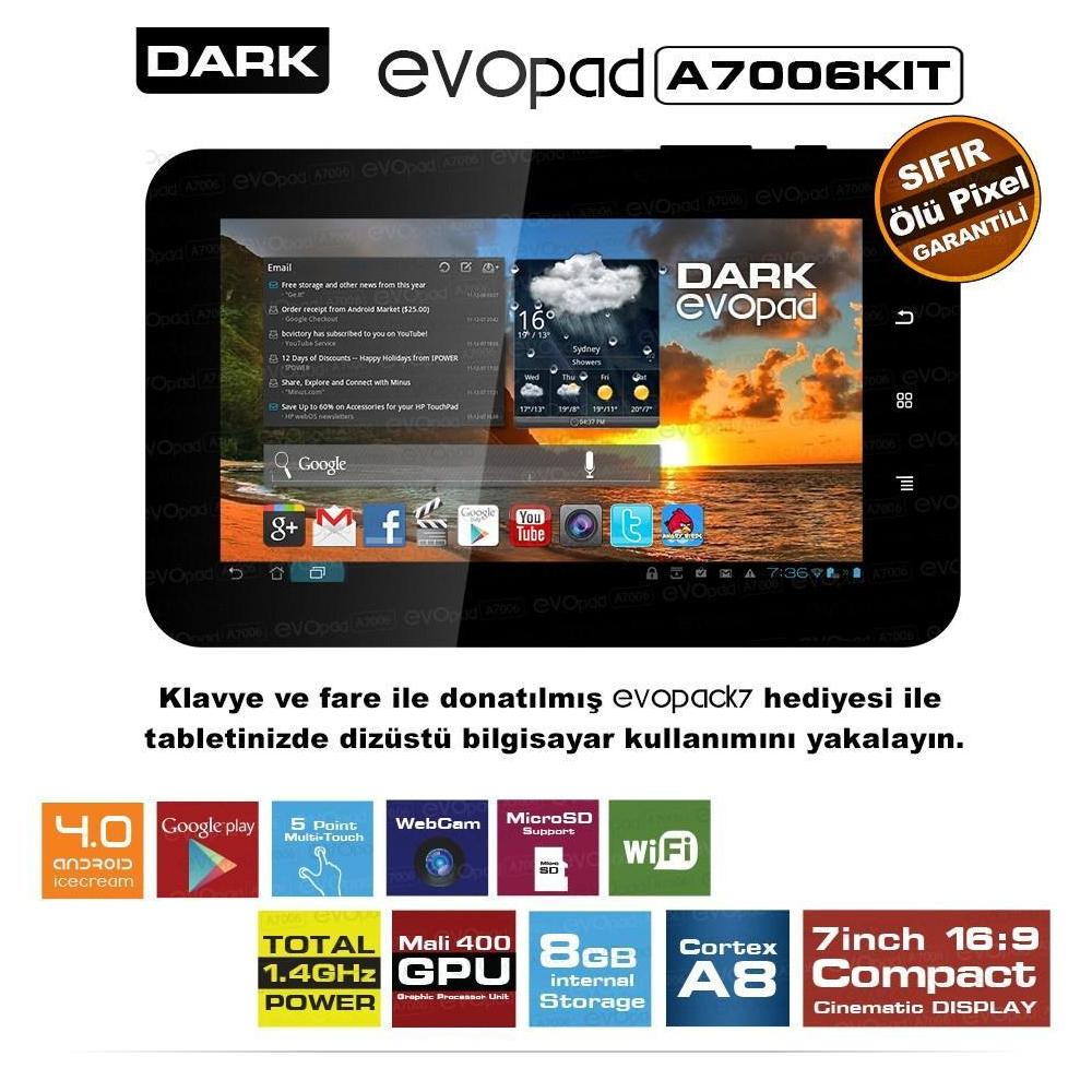 Dark EvoPad A7006K Tablet PC