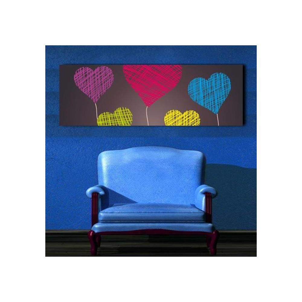 Diamonds Canvas DC5 90x30 cm Tablo