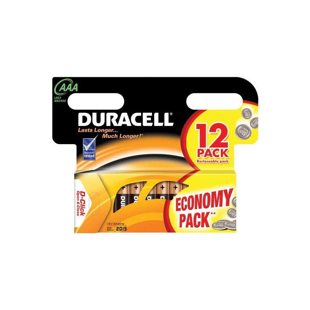 Duracell AAA İnce Kalem 8 Adet Pil