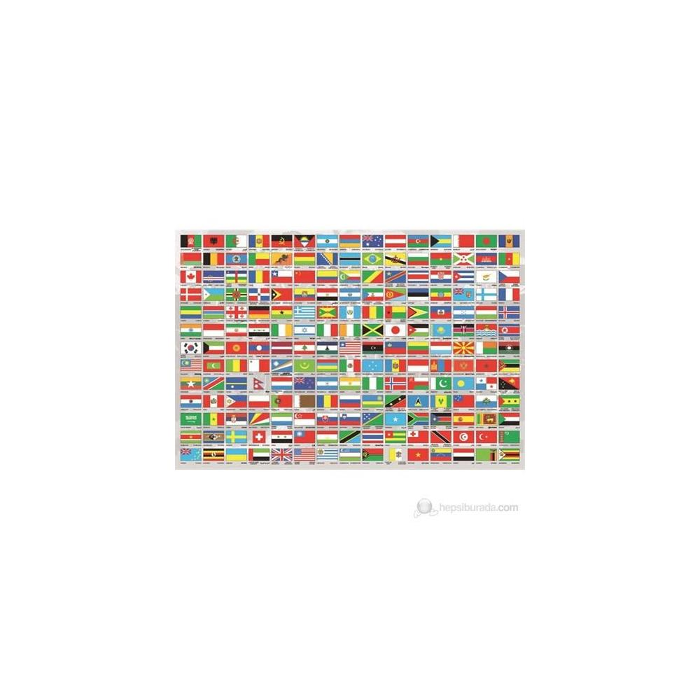 Educa Flags Of The World 1500 Parça Puzzle