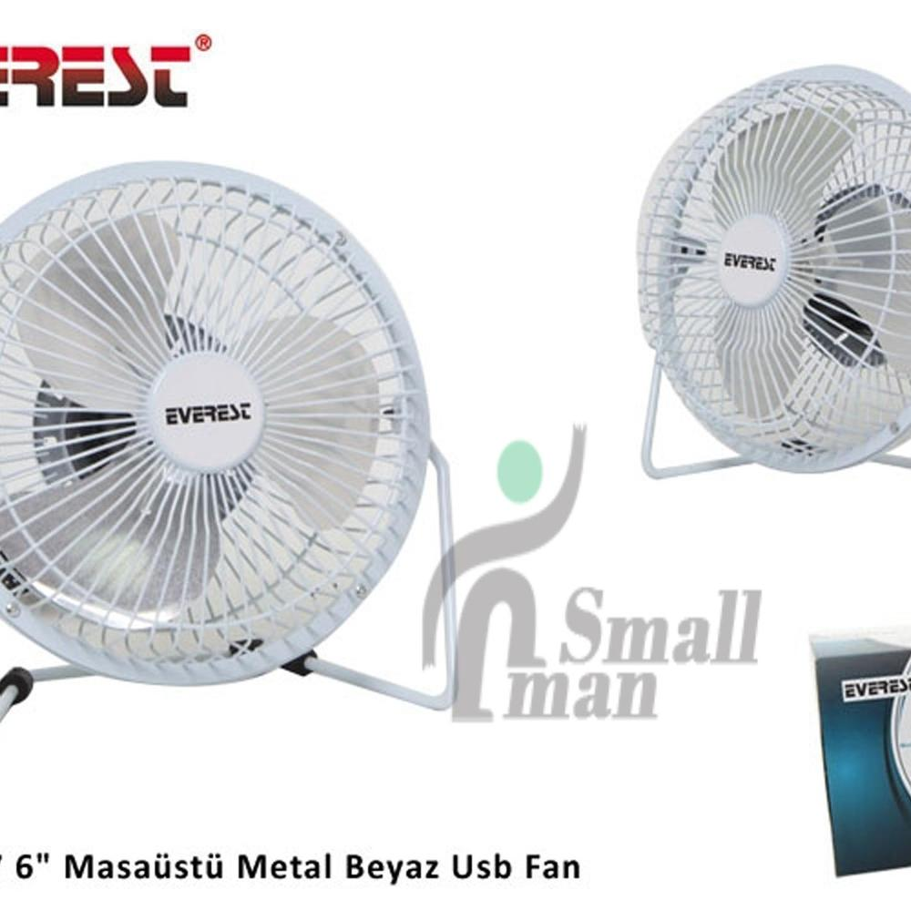 Everest EFN-487 Beyaz USB Fan