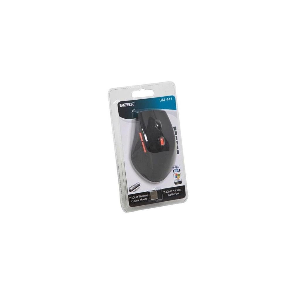 Everest SM-441 Siyah Mouse