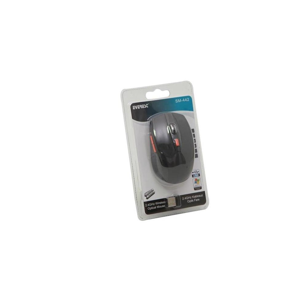 Everest SM-442 Siyah Mouse