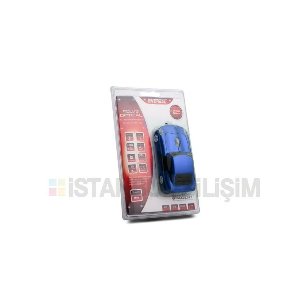 Everest SM-955 Mavi Mouse
