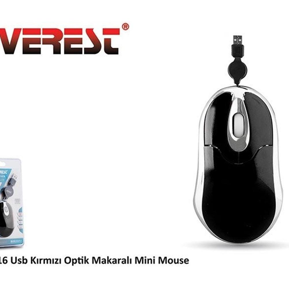 Everest SP-V16 Siyah Mouse