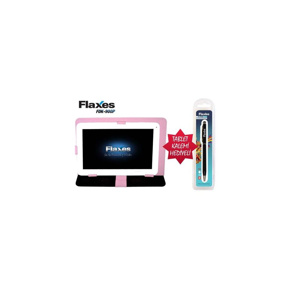 Flaxes FDK-900P Pembe Tablet PC Kılıfı